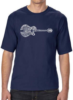 E.m. LOS ANGELES POP ART Los Angeles Pop Art Boy's Raglan Baseball Word Art T-shirt - Gig 'Em Aggies