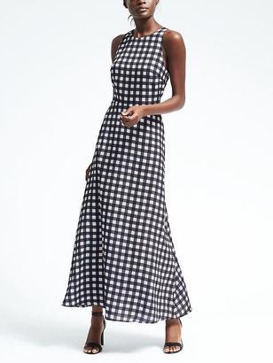 Gingham Maxi Dress $158 thestylecure.com