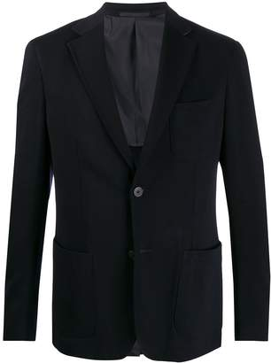 single-breasted blazer jacket