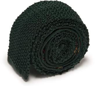 Serà Fine Silk - Green Forest Knitted Tie