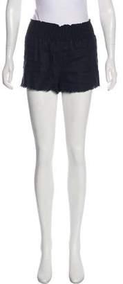 Tibi High-Rise Short Shorts
