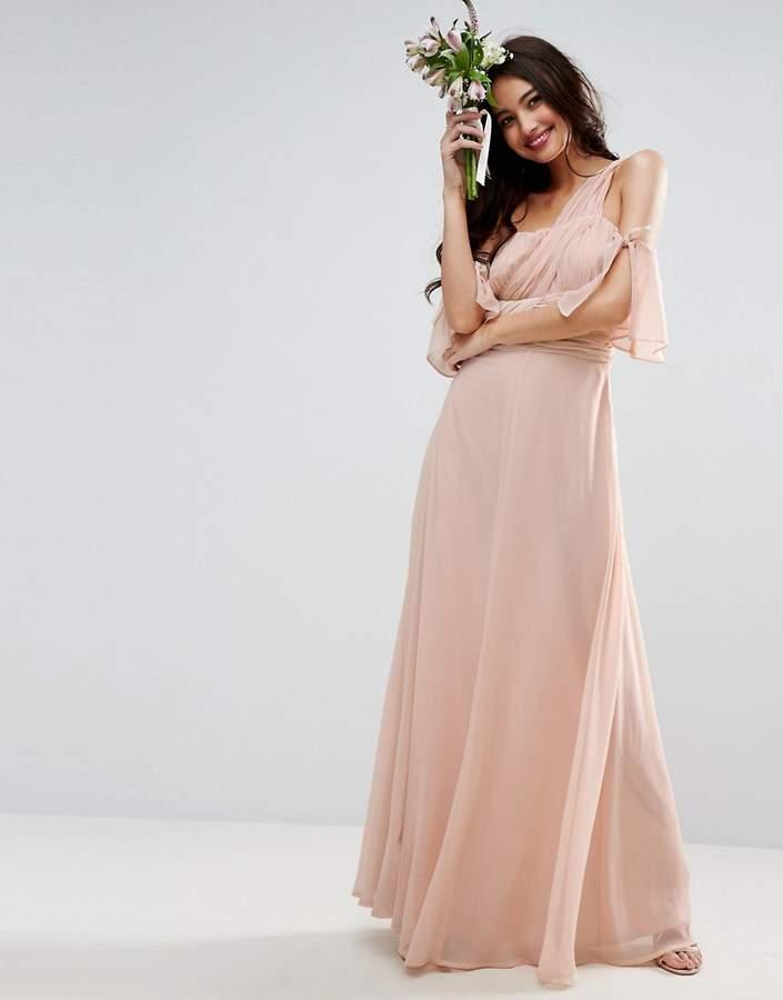 AsosASOS WEDDING One Shoulder Maxi Dress