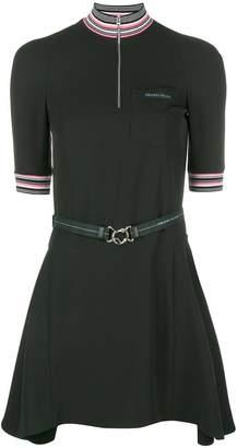 Prada short belted dress
