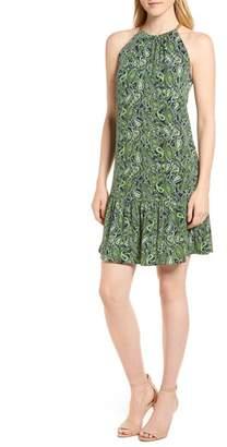 MICHAEL Michael Kors Paisley Paradise Drop Waist Dress