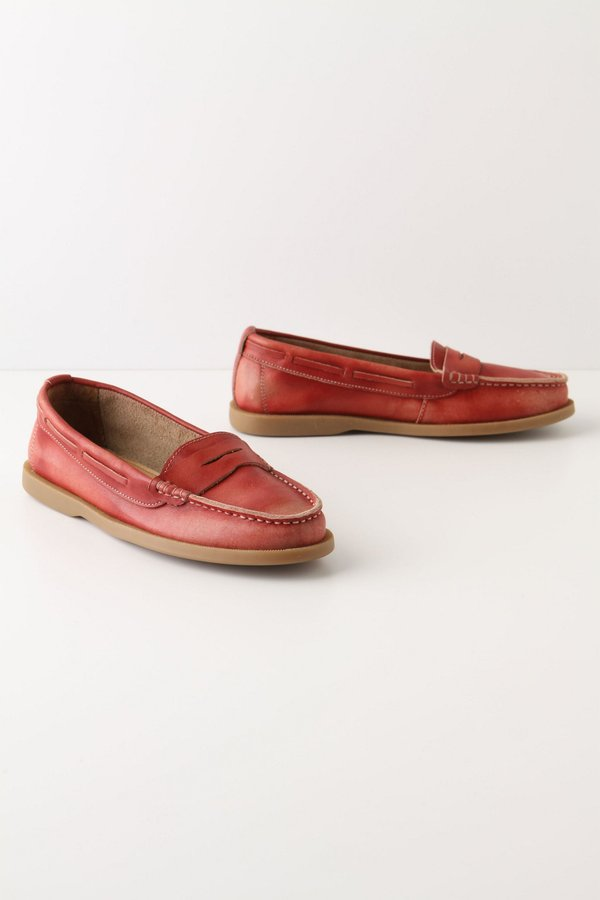 Anthropologie Muted Shades Loafers