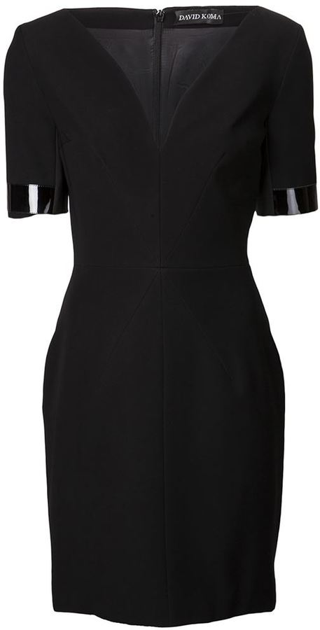 David Koma cutout dress