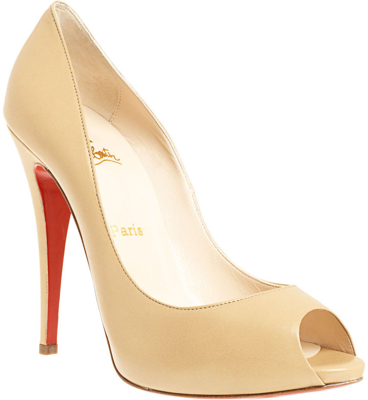 Christian Louboutin Lady Claude - Beige