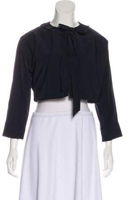 Nina Ricci Lightweight Cropped Jacket