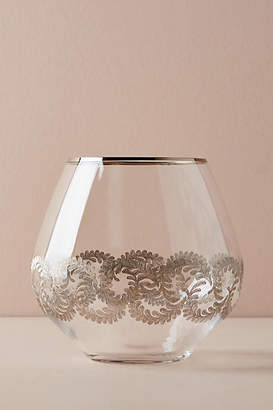 Anthropologie Lucca Stemless Wine Glass