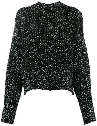 Jil Sander cropped roll-neck knitter jumper