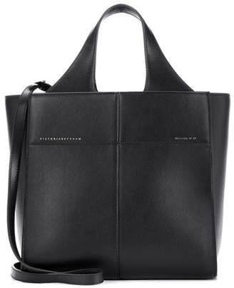 Victoria Beckham Small Gazette leather tote