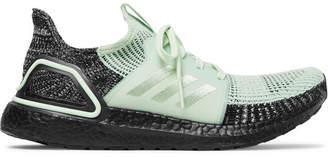 adidas Sport - Ultraboost 19 Rubber-trimmed Primeknit Running Sneakers - Mint