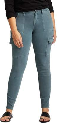 Silver Jeans Skinny Cargo Mid Rise Pants