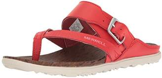 Merrell Women's Around Town Thong Buckle Print Sandal