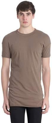 Isabel Benenato Layered Collar Cotton Jersey T-Shirt