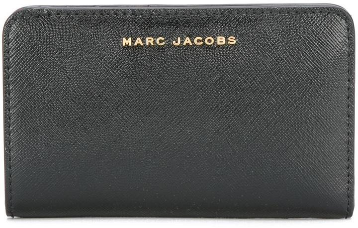 Marc Jacobs Marc Jacobs bi-colour compact wallet