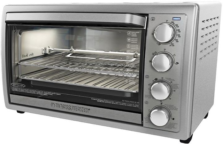 Black & Decker Rotisserie Convection Toaster Oven
