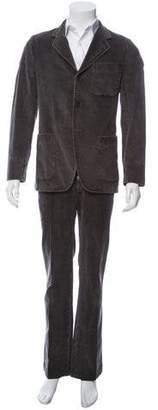 Dries Van Noten Corduroy Two-Piece Suit