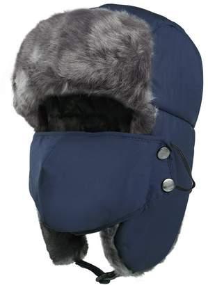 c49f759f8a3 VBIGER Winter Trapper Hat Windproof Bomber Hat Ear Flaps Mask Ski Hat