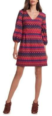 Trina Turk Nicole Embroidered Shift Dress