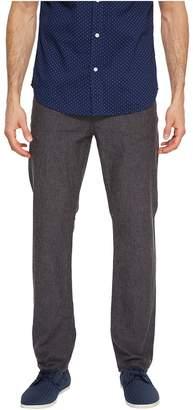 Perry Ellis Slim Fit Solid Linen Pants Men's Casual Pants
