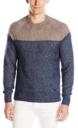 Armani Jeans Men's Color Block Sweater