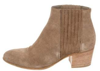 Vince Round-Toe Ankle Boots