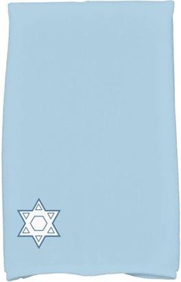 Holiday Essence Star's Corner, Geometric Print Hand Towel