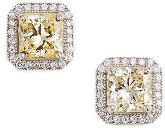 Lafonn 'Lassaire' Canary Stud Earrings
