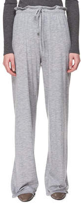 The Row Elisia Pull-On Cashmere Pants