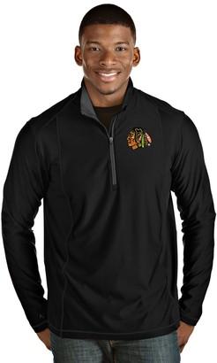 Antigua Men's Chicago Blackhawks Tempo Pullover