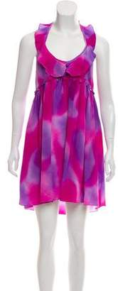Rory Beca Silk Printed Dress w/ Tags
