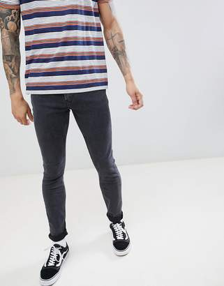 Lee Malone Super Skinny Jeans in Concrete Gray