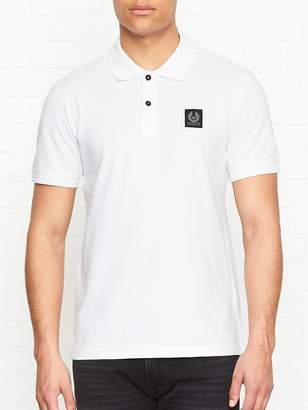 Belstaff Stannett Pique Polo Shirt -White