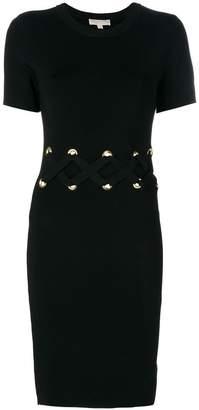 MICHAEL Michael Kors lace up waist dress