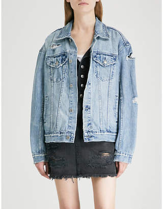 Ksubi Blade Runner oversized denim jacket