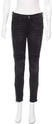 Polo Ralph Lauren Mid-Rise Moto Jeans