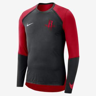 Nike Houston Rockets Dri-FIT Men's Long-Sleeve NBA Top