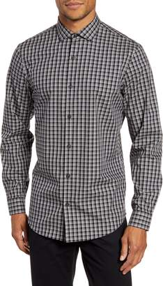 Calibrate Modern Fit Check Non-Iron Button-Up Shirt