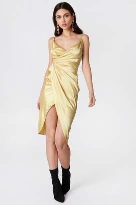 boohoo Satin Strappy Dress