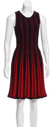 Alexander McQueen Jacquard Knit Dress w/ Tags