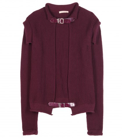 Christopher Kane Ribbed Cashmere Cardigan