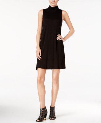 kensie Mock-Turtleneck T-Shirt Dress $69 thestylecure.com