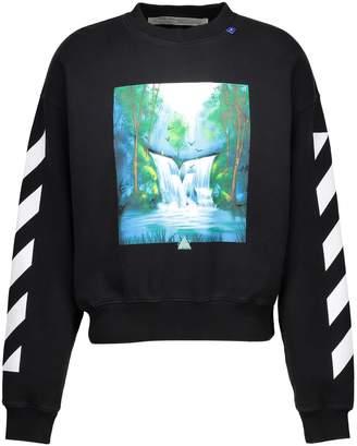 Off-White Off White Waterfall print sweatshirt