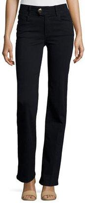 FRAME Le Micro Flare Jeans, Film Noir $239 thestylecure.com