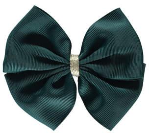 George Green Bow Hair Clip