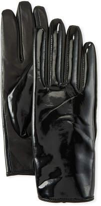 Karl Lagerfeld Glossy Gloves
