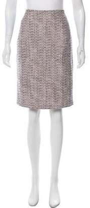 Karl Lagerfeld Knee-Length Tweed Skirt w/ Tags