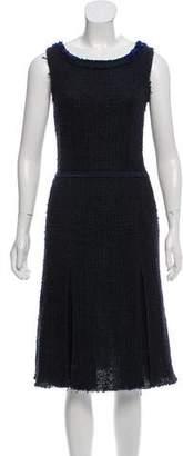 Prada Embellished Boucle Dress