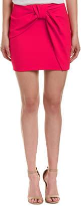 Maje Draped Mini Skirt